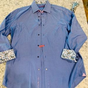 Robert Graham Button Down Shirt Large